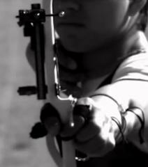 【超清】射箭慢镜头高速摄影