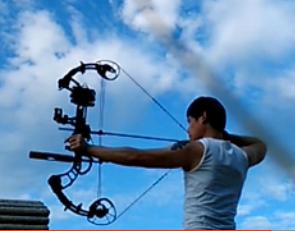【自拍】PSE法令复合弓练习