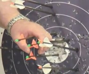【超清】复合弓和反曲弓射击效果对比