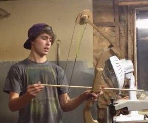 【自拍】DIY木制复合弓